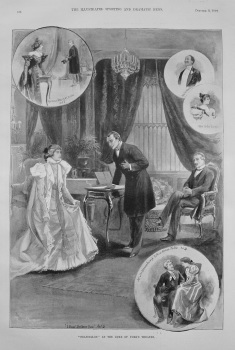 """""""Francillon"""" at the Duke of York's Theatre. 1897"""