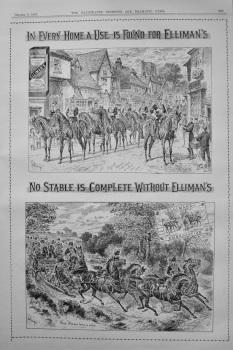Elliman's Embrocation. 1897.
