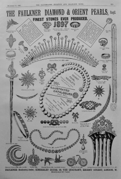 The Faulkner Diamond & Orient Pearls. 1897