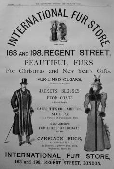 The International Fur Store. 1897