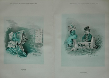 """""""An Egg-Nigma."""" and """"After Boxing Day."""" 1897"""