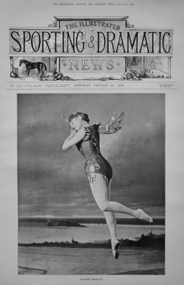 Madame Grigolati. 1898