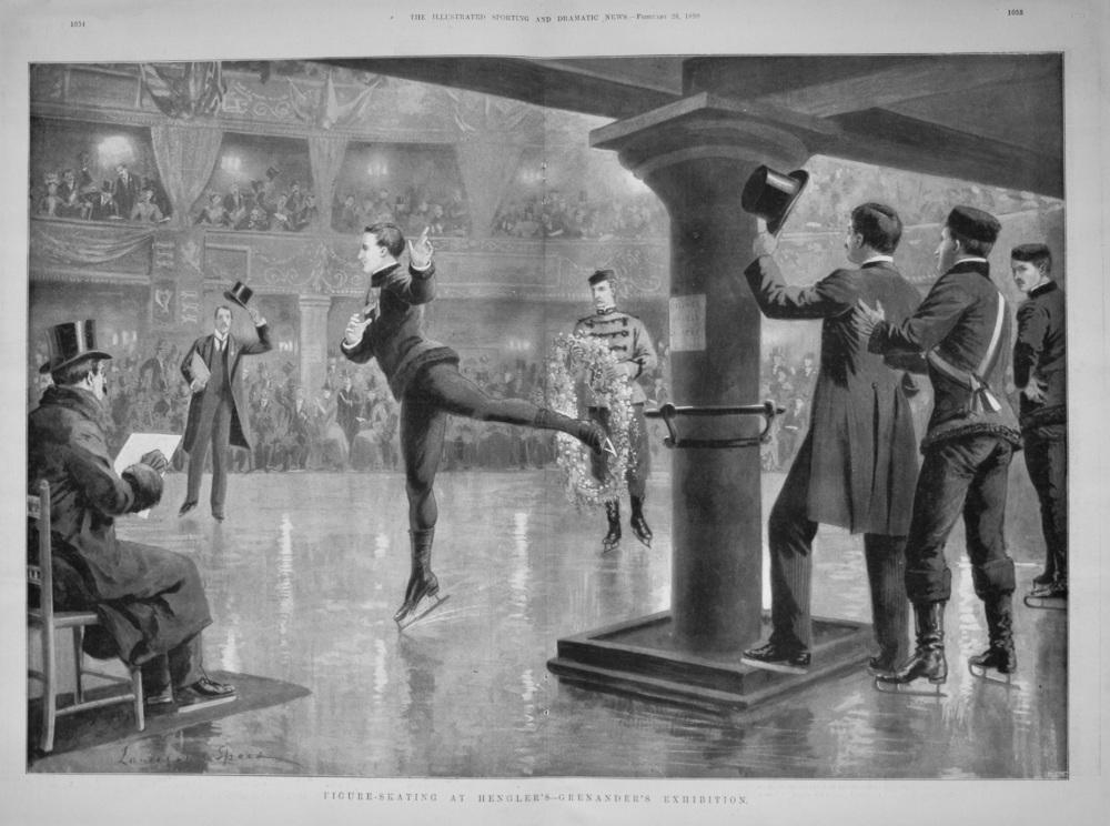 Figure-Skating at Hengler's-Grenander's Exhibition. 1898