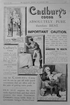 Cadbury's Cocoa 1898