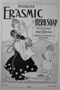 Erasmic Herb Soap. 1898