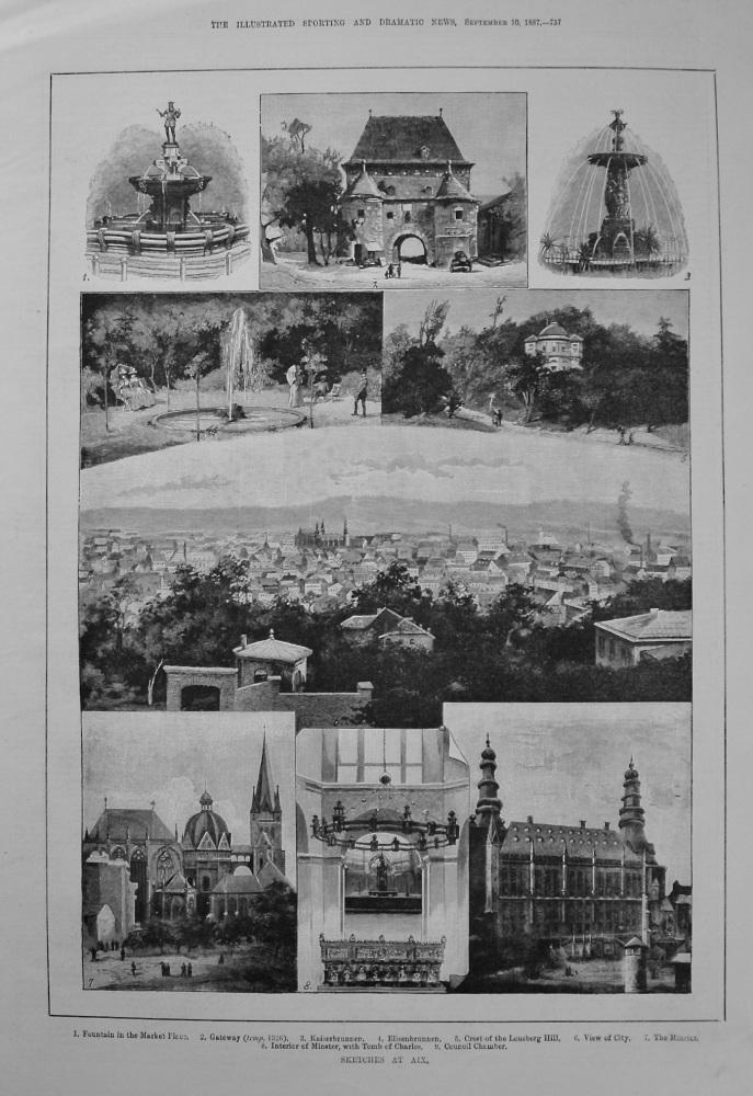 Sketches at Aix. 1887