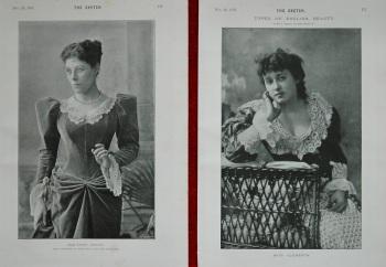 Miss Clements & Miss Fanny Brough. 1893
