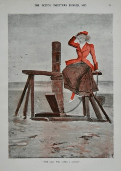 """The Lass Who Loves A Sailor."" 1893"