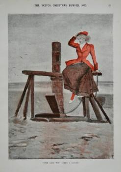 """The Lass Who Loves A Sailor."" 1893"