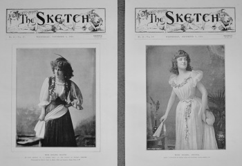Miss Isabel Irving. & Miss Decima Moore. 1893
