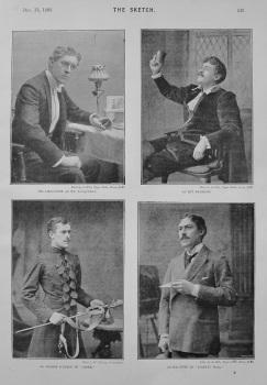 George Alexander. (4 Quarter Page Photographs). 1893.