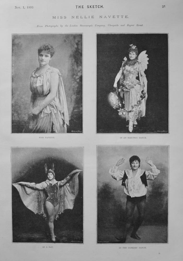 Miss Nellie Navette. 1893