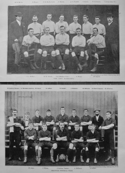 The City Ramblers. & Millwall Football Team. 1894