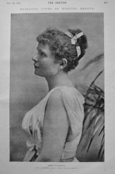 Miss Ivanova. 1894.