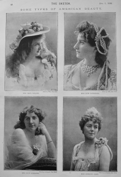 Some Types of American Beauty. 1894.