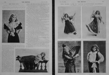 Miss Mabel Love. 1894.
