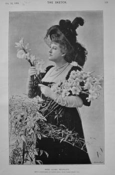 Miss Alma Stanley. 1894