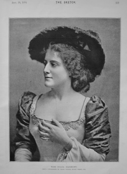Miss Hilda Hanbury. 1894