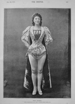 Miss Hamer. 1894.
