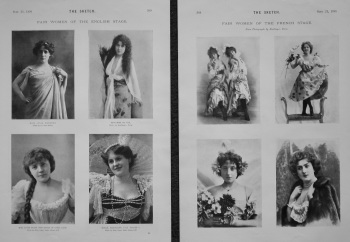 Fair Women of the English Stage. 1898.