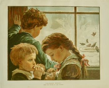 """Hungry Birds."" 1882."