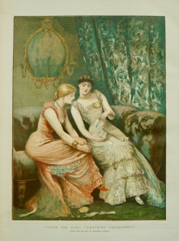 """After The Ball : Comparing Programmes."" 1882."
