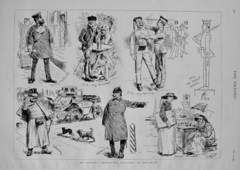 An Artist's Character Sketches in Berlin -II. 1882