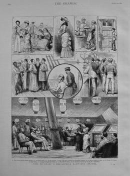 Life on Board a Messageries Maritimes Steamer. 1882