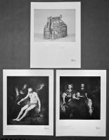 1- The Monymusk Reliquary. 2- John & Randolph Corbet. 3- Job in his Misery.