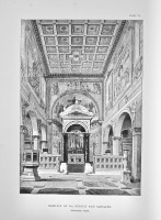 Basilica of Sts. Nereus and Achilles. Interior View.