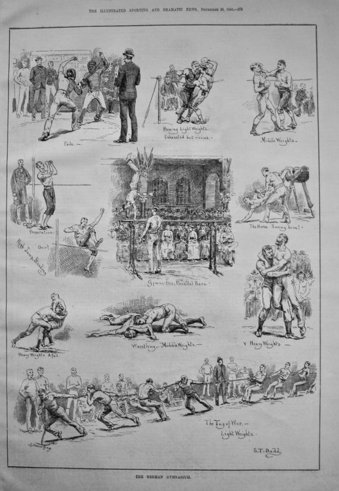 The German Gymnasium. 1886