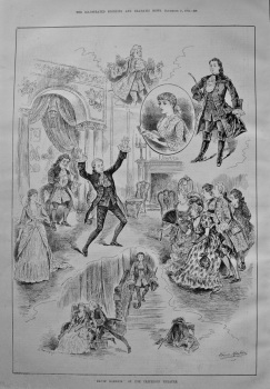"""David Garrick"" at the Criterion Theatre. 1886."