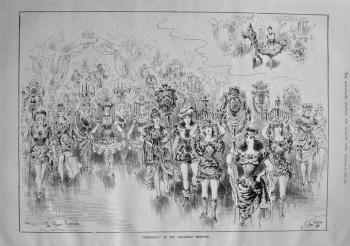 """Dresdina"" at the Alhambra Theatre. 1886"