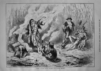 """""""Faust"""" at the Lyceum Theatre.- """"The Witches Kitchen."""" 1886"""