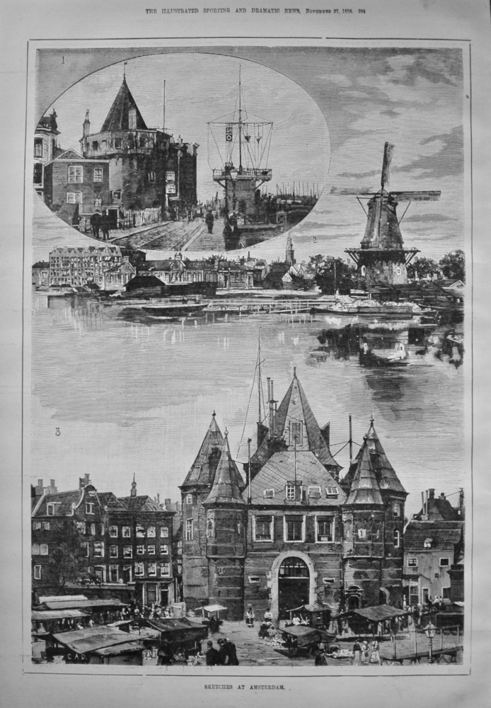 Sketches at Amsterdam. 1886