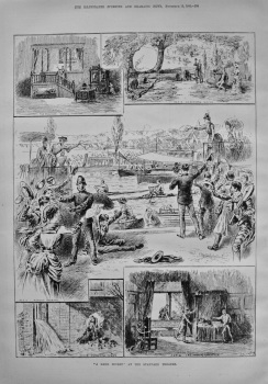 """A Dark Secret"" at the Standard Theatre. 1886"
