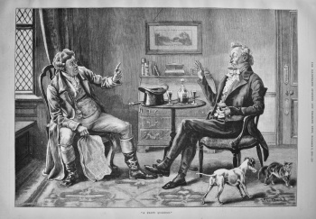 """A Party Question."" 1886"