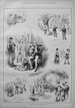 """""""A Run of Luck"""" at Drury Lane. 1886."""