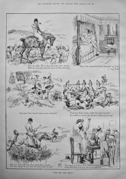 """""""D'Ye Ken John Peel. 1886."""