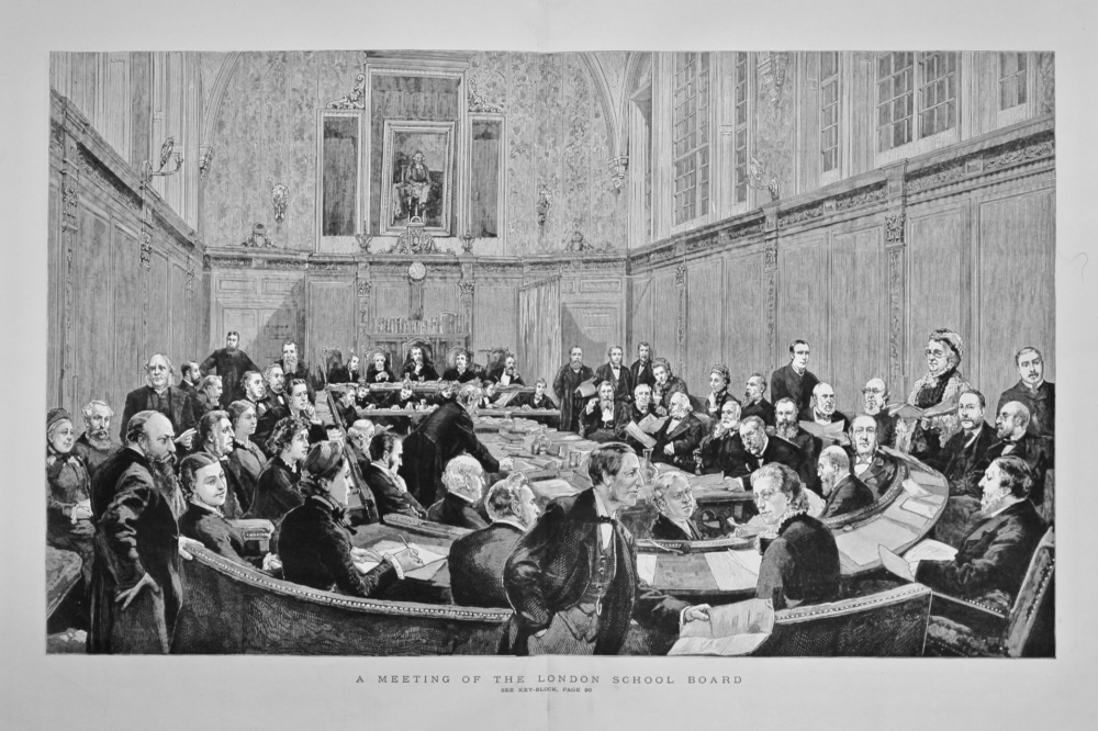 A Meeting of the London Board. 1882