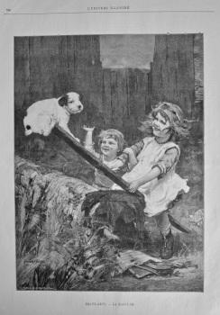 Beaux - Arts. - La Bascule. 1894.