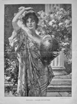 Beaux - Arts. - Madame Chrysanthème.