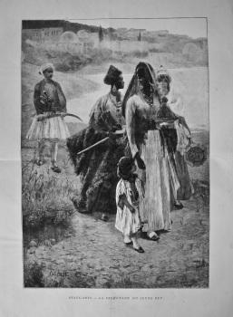 Beaux - Arts.- La Promenade du Jeune Bey. 1894.