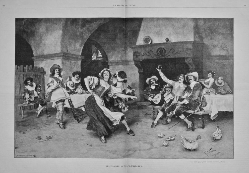 Beaux-Arts. - Colin-Maillard. 1898.