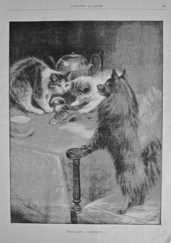 Beaux-Arts. - L'Importun. 1898.