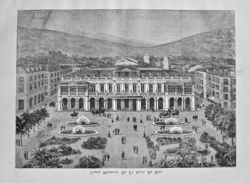 Casino Municipal De La Ville De Nice. 1882