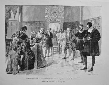 Comédie Francaise. - Le Reine Juana, drame en cinq actes, en vers, de M. Alexandre Parodi. 1893.