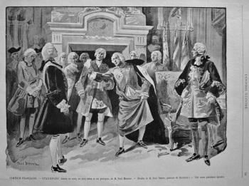 Comédie-Française. - Struensee, drame en vers, en cinq actes et un prologue, de M. Paul Meurice. 1894§