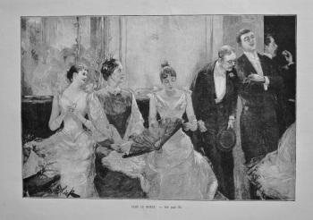 Dans Le Monde. 1898.