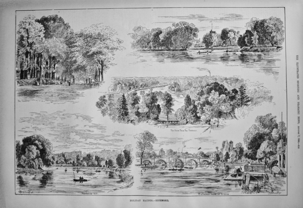 Holiday Haunts.- Richmond. 1886.